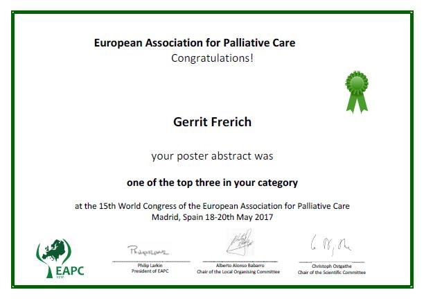 Poster prize
